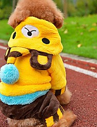 Pet Bear Baby Puppy Dog Clothes Hoodies for Dogs Clothes Pet Apparel (XS-L) (XS-L)