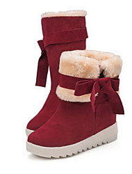 D&y Women's shoes Snow Boots Low Heel Ankle Boots
