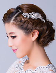 Women's Rhinestone Alloy Headpiece-Wedding Special Occasion Hair Pin
