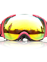 Kids' Anti-Fog TPU Retro Ski Goggles