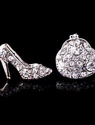 Stud Earrings Women's Alloy Earring Rhinestone