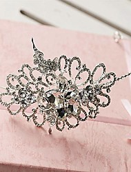 Women's Rhinestone/Alloy Headpiece - Wedding Headbands