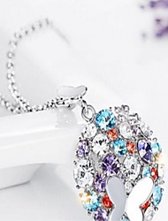 The City of Flower Crystal Necklace