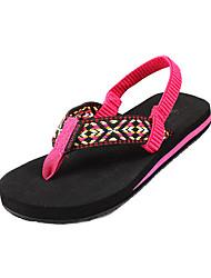 Zapatillas ( Negro ) - Deslizar/Comfort - Tejido