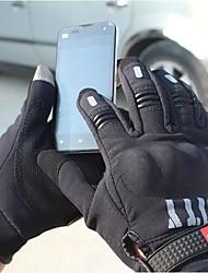 madbike ™ зима теплая Ветрозащитная защитная полный палец гоночный велосипед перчатки мотоцикла осязаемый телефон перчатки