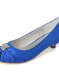 Zapatos de boda - Tacones - Tacones / Punta Abierta - Boda / Fiesta y Noche -Negro / Azul / Rosa / Morado / Rojo / Marfil / Blanco /