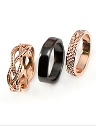 Viennois Fashion And Simple Style (Set Of 3 In 1 Rings)