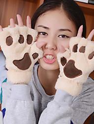 septwol.ves gants occasionnel chaleur laine tricotés de femmes