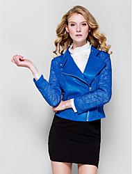 Women's Mesh Cut Slim Long Sleeve Jacket (More Colors)