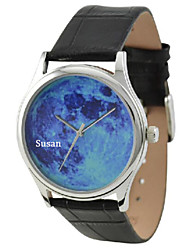 Personalized JUST2YOU Citizen Movement  Blue   Moon in Steel   Case