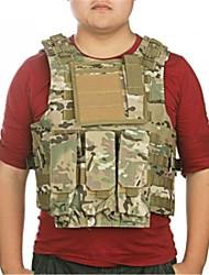 leve camuflagem nylon molle combate militar tático exército paintball colete
