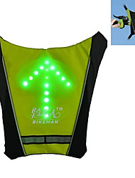BIKEMAN Remote Control Team Cycling Nylon Green Indicator Light