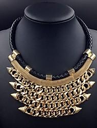 moro elegante necklace_necklace diamonade exagerada: 50 + 5 centímetros # n0055