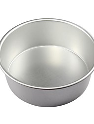 Aluminum Alloy 8 Inches Round The Bottom Fixing Cake Mold