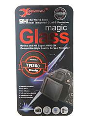 vetro temperato protezione dello schermo della fotocamera per Casio TR350