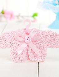 favores do casamento do design de decoração roupas de bebê (conjunto de 6)
