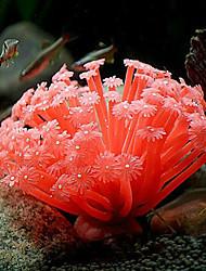 anêmonas imitação do mar para enfeite decoração para aquário