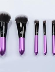 6pcs Soft Synthetic Hair Make Up Tools Kit Cosmetics Beauty Makeup Brush Sets