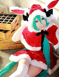Vocaloid Hatsune Miku Red Rabbit Christmas Costume