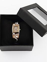 relógio pulseira de diamantes decoração de aço das mulheres elegantes personalizados