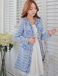 la mode roses doll® femmes élégant manteau de laine mince