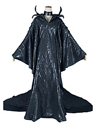 Gorgeous Maleficent Angelina Jolie Cosplay Costume