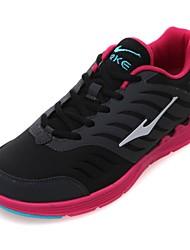 Zapatos de mujer ( Negro/Rosado/Gris Cuero sintético
