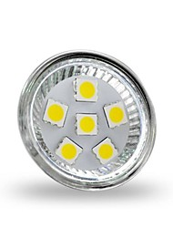 2W GU4(MR11) LED Spotlight MR11 6 SMD 5050 200 lm Cool White Decorative DC 12 V