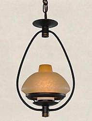 colgante ilumina el arte de hierro américa 220v rústico