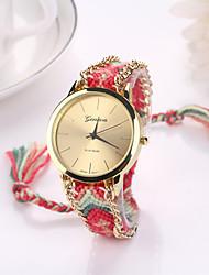 w&q alle übereinstimmen eleganten Strickkreis Uhr