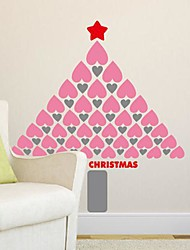 Wall Stickers Wall Decals,  Modern The Christmas tree of love PVC Wall Stickers