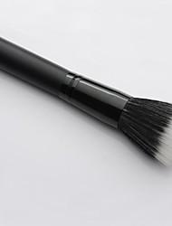 Professional Black Stipple Hair Makeup Blush Brush