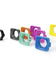 g-706 lente cubierta anillo marco protecter w / lente de pc para gopor héroe 3/3 + / 4