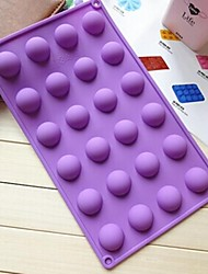 tortiera forma di semicerchio 24 buche