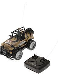 brinquedo carro rc cruz país de função completa off-road com cor aleatória luz
