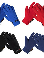 Cycling Anti-skidding Protective Cold-proof Warm Full Finger Multi-Color Polyester Gloves