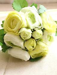 """Fleurs de mariage Rond Bouquets Mariage Soie 6.3""""(Env.16cm)"""