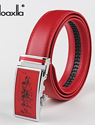 Men Buckle / Waist Belt,Vintage / Party / Work / Casual Alloy / Leather All Seasons