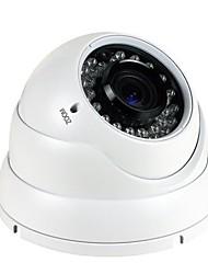 cctv 2.8-12mm varifocal IR a prueba de vandalismo cámara domo de 1/4 CMOS 700TVL con IRCUT 30m ir cubierta xv-v806r7