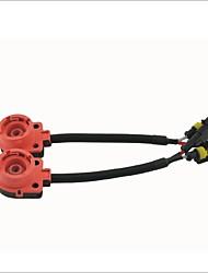 ampoule ballast câble adaptateur de prise de convertisseur de HID harnais pour d2 / d4 (x2)