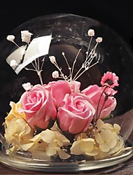 Cloche en VerreVerre Fleurs Fleurs