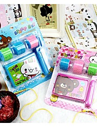 Bear And Rabbit Design Rubber Scrapbook Stamps For Children