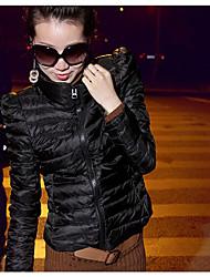 Women's Coats & Jackets , Cotton Casual W.Z.J