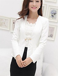 Women's Korean Style Falbala Blazer