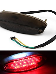 Motorcycle 28 LED Brake Running Turn License Plate Tail Light Quad ATV Bike