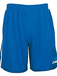 Joma Outdoor 100% Polyester Interlock Blue/Black/White/Red Soccer Training Shorts