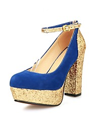 Women's Shoes Platform Chunky Heel Pumps Shoes More Colors available
