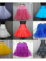 Colored Petticoat Wedding Dress Accessories