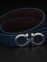 cinturones de moda de los hombres ocasionales británicos