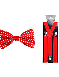 Bow Tie & Suspender  (Two-Piece)